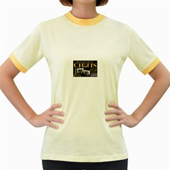 2309020769 A7e45feabe Z Women s Ringer T Shirt (colored)
