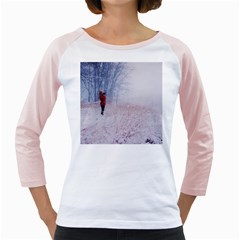 Untitled1 Women s Long Cap Sleeve T-Shirt (White)