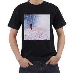 Untitled1 Men s Two Sided T-shirt (Black)