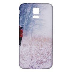 Untitled1 Samsung Galaxy S5 Back Case (White)