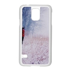 Untitled1 Samsung Galaxy S5 Case (White)