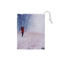 Untitled1 Drawstring Pouch (small)