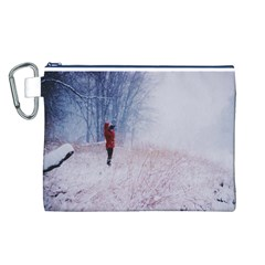 Untitled1 Canvas Cosmetic Bag (Large)