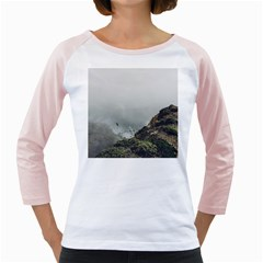 Untitled2 Women s Long Cap Sleeve T-Shirt (White)