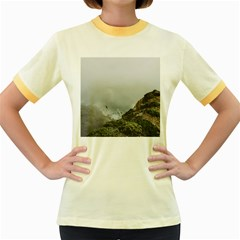 Untitled2 Women s Ringer T-shirt (Colored)