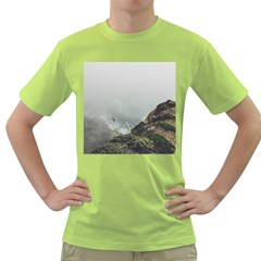 Untitled2 Men s T-shirt (Green)