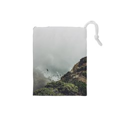 Untitled2 Drawstring Pouch (Small)
