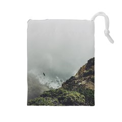 Untitled2 Drawstring Pouch (Large)