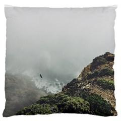Untitled2 Large Flano Cushion Case (one Side)