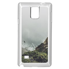 Untitled2 Samsung Galaxy Note 4 Case (White)