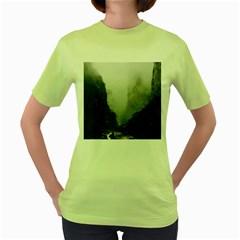 Unt3 Women s T-shirt (Green)