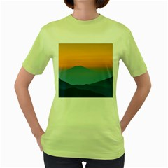 Unt4 Women s T-shirt (Green)