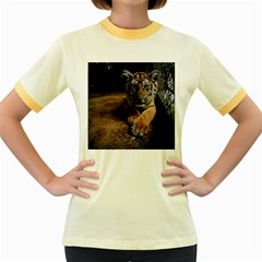 Photo  Women s Ringer T-shirt (Colored)