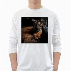 Photo  Men s Long Sleeve T-shirt (White)