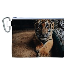 Photo  Canvas Cosmetic Bag (large)