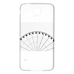 untitled Samsung Galaxy S5 Back Case (White)