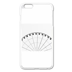 untitled Apple iPhone 6 Plus Enamel White Case