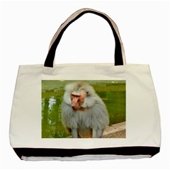 Grey Monkey Macaque Classic Tote Bag