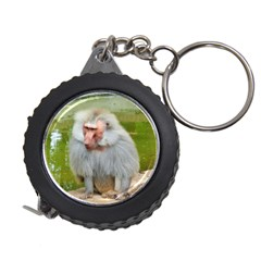 Grey Monkey Macaque Measuring Tape