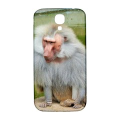 Grey Monkey Macaque Samsung Galaxy S4 I9500/i9505  Hardshell Back Case