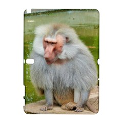 Grey Monkey Macaque Samsung Galaxy Note 10.1 (P600) Hardshell Case