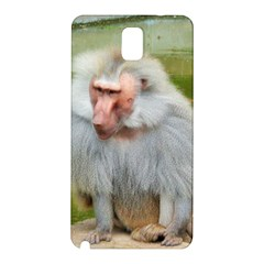 Grey Monkey Macaque Samsung Galaxy Note 3 N9005 Hardshell Back Case