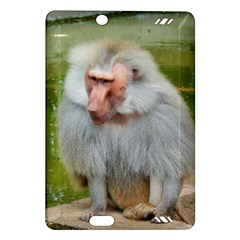 Grey Monkey Macaque Kindle Fire Hd (2013) Hardshell Case