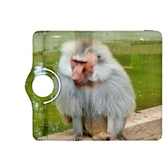 Grey Monkey Macaque Kindle Fire Hdx 8 9  Flip 360 Case