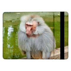 Grey Monkey Macaque Samsung Galaxy Tab Pro 12.2  Flip Case