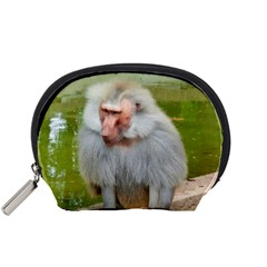Grey Monkey Macaque Accessory Pouch (Small)