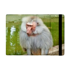 Grey Monkey Macaque Apple iPad Mini 2 Flip Case