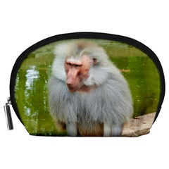Grey Monkey Macaque Accessory Pouch (large)