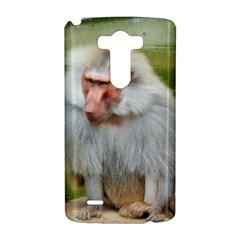 Grey Monkey Macaque LG G3 Hardshell Case