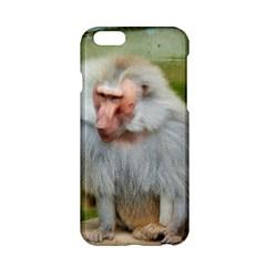 Grey Monkey Macaque Apple Iphone 6 Hardshell Case