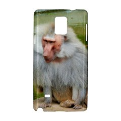 Grey Monkey Macaque Samsung Galaxy Note 4 Hardshell Case
