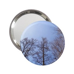 Large Trees In Sky Handbag Mirror (2 25 )