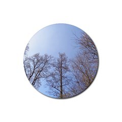 Large Trees In Sky Drink Coasters 4 Pack (round)