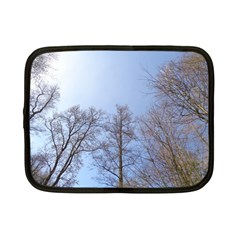 Large Trees In Sky Netbook Sleeve (small)