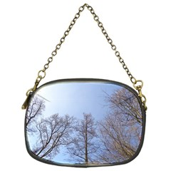 Large Trees In Sky Chain Purse (one Side)