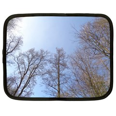 Large Trees In Sky Netbook Sleeve (xl)