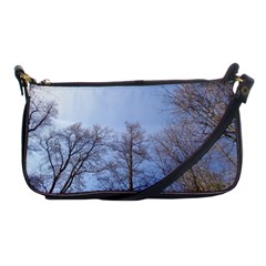 Large Trees In Sky Evening Bag