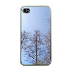 Large Trees In Sky Apple Iphone 4 Case (clear)