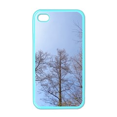 Large Trees In Sky Apple Iphone 4 Case (color)