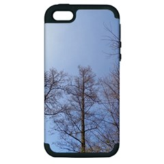 Large Trees In Sky Apple Iphone 5 Hardshell Case (pc+silicone)