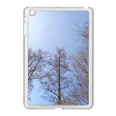 Large Trees In Sky Apple Ipad Mini Case (white)