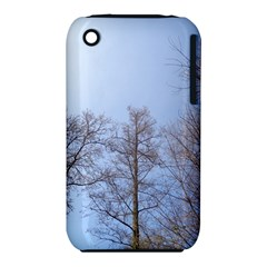 Large Trees In Sky Apple Iphone 3g/3gs Hardshell Case (pc+silicone)