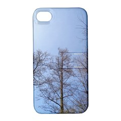 Large Trees In Sky Apple Iphone 4/4s Hardshell Case With Stand