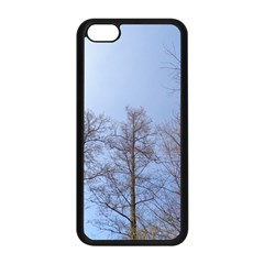 Large Trees In Sky Apple Iphone 5c Seamless Case (black)