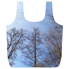 Large Trees In Sky Reusable Bag (xl)