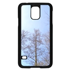 Large Trees In Sky Samsung Galaxy S5 Case (black)